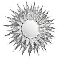 Ohlson Silver Large Sunburst Mirror